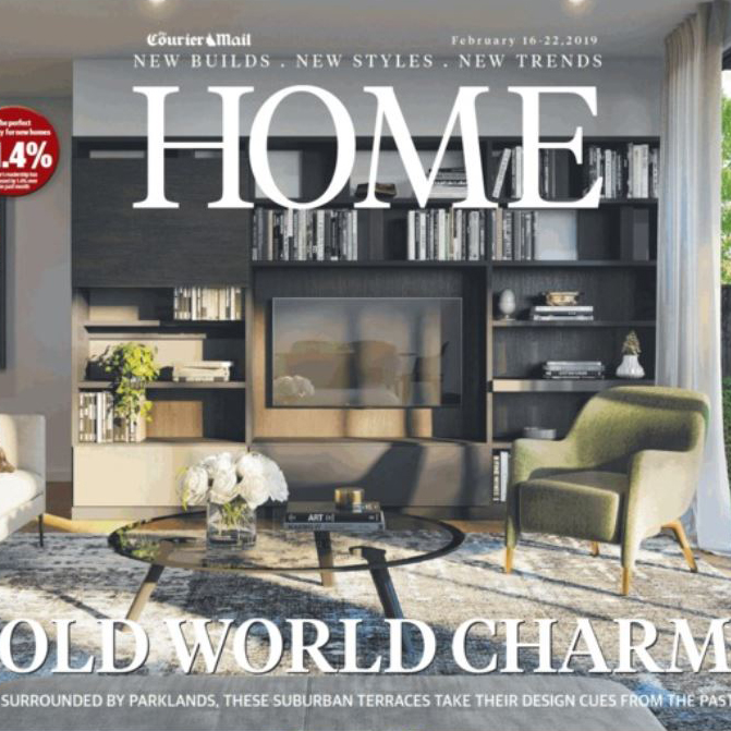 Brookfield House | Courier Mail Home Magazine